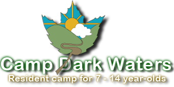 Camp Dark Waters Logo